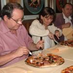 Pizzériában